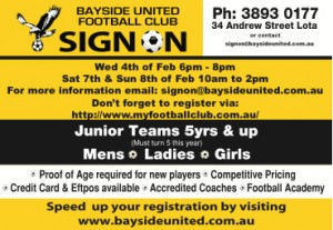 2015 Sign On Day @ Bayside United FC | Lota | Queensland | Australia