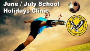 June / July Holiday Clinic @ Bayside United FC   Lota   Queensland   Australia